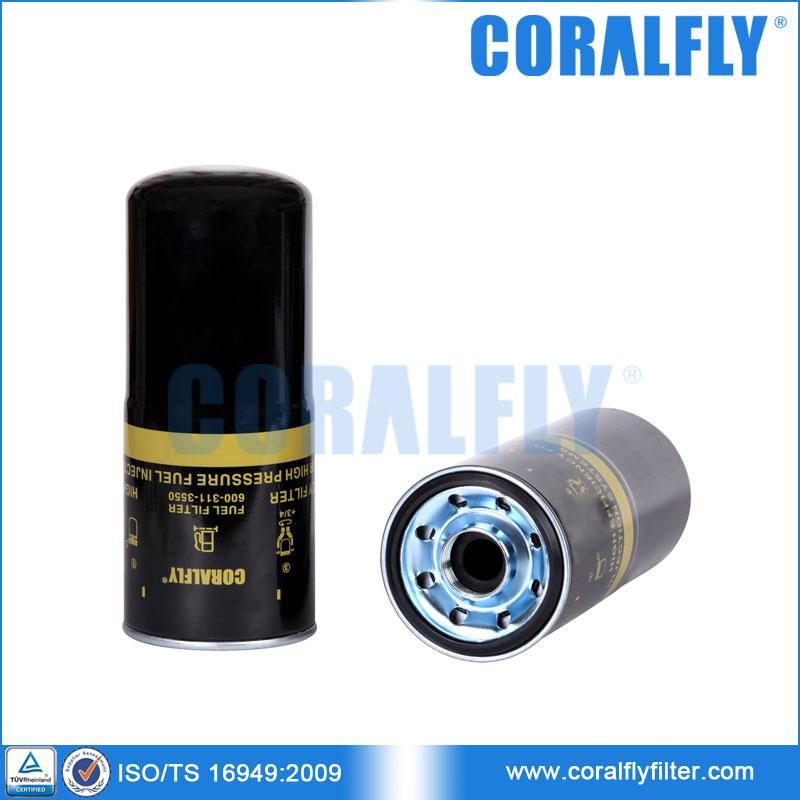 komatsu fuel filter 6003113550 600